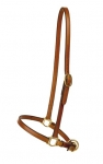 "Tory Leather 3/4"" Grooming Bridle Leather Halter"