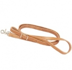 "Tory Leather 3/4"" Harness Leather Flat Roping Rein"