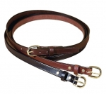 "Tory Leather 3/4"" Plain Leather Belt"