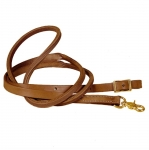 "Tory Leather - 3/4"" Single Ply HL Roping Rein with  Solid Brass Hardware"