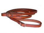 "Tory Leather 3/4 x 60"" Flat Buckle End Rein"