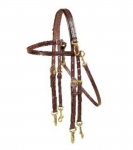 Tory Leather - Arabian Size Double Bridle Side Check Headstall