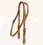 Tory Leather Bridle Leather Shaped Ear Pony Headstall