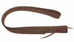 Tory Leather Brown Nylon Tie Strap
