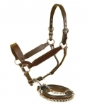 Tory Leather Congress Style Show Halter Plain