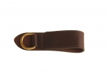Tory Leather Deluxe Girth Ring With Solid Brass Dee