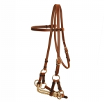 Tory Leather - Double Nose Harness Leather Side Pull