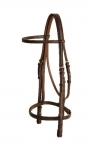 Tory Leather False Raised Bridle (No Reins)