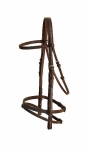 Tory Leather False Raised Bridle with Flash (No Reins)