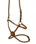 Tory Leather Figure 8 Noseband with Stainless Steel Rings