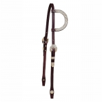 Tory Leather Fila Silver One Ear Headstall