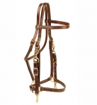 Tory Leather Halter/ Bridle Combo Trail Bridle
