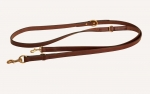 Tory Leather Hands Free Jaeger Dog Leash