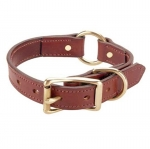 Tory Leather Harness Leather Safety Dog Collar