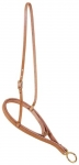 Tory Leather HL Pro-Roper Noseband Inner Caveson and Soild Brass Hardware