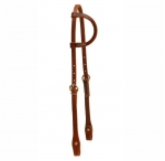 Tory Leather - HL Single Ply One Ear Headstall with CS Bit Ends
