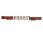 Tory Leather Latigo Double Chain Curb Chain