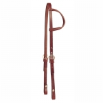 Tory Leather One Ear Headstall with Sewn Buckles