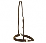 Tory Leather Padded Crank Caveson with Nickel Plated Buckles