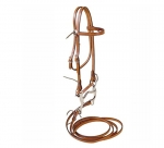 Tory Leather PONY Brow Band Headstall Complete with bits and reins