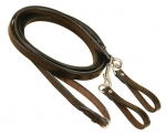 Tory Leather Pony Draw Rein with Girth Loops