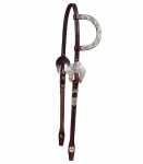 Tory Leather Rochester Silver One Ear Headstall