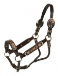 Tory Leather San Jose Show Halter w/Lead