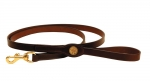 Tory Leather Shot Shell Dog Collar Leash