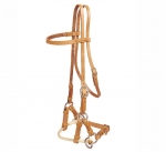 Tory Leather - Single Nose Harness Leather Side Pull