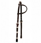 Tory Leather Sliding Ear Headstall