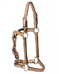 Tory Leather Weanling Show Halter