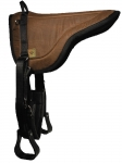 Triple E Rugged Ride Contoured Waxwear Bareback Pad