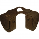 Triple E Rugged Ride Waxwear Horn Bag