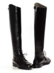 TUFFRIDER Back Zip Field Boots Wide Ladies
