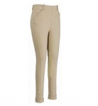 TUFFRIDER Children's Light Cotton Lowrise Side Zip Jodhpurs