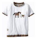 TuffRider Children's Trio Horse Short Sleeve Tissue Tee