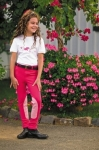 TUFFRIDER Children's Whimsical Horse Embroidered Pullon Jodhpurs