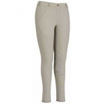 TUFFRIDER Light Cotton Knee Patch Ladies Breech - Regular