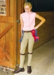 TUFFRIDER Light Cotton Pull On Jodhpurs Extra Long Child Breech