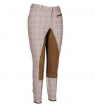 TUFFRIDER Retro Plaid Fullseat Regular Ladies Breech