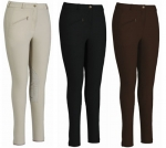 TUFFRIDER Ribb Knee Patch Ladies Breeches - Regular