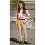 TUFFRIDER Ribb Lowrise Pull On Jodhpurs Child Breech