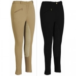 TUFFRIDER Ribbed Lowrise Full Seat Ladies Breeches - Long
