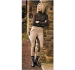 TUFFRIDER Unifleece Full Seat Pull-On Ladies Winter Breech