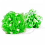 UltraShield Woof Pouf Flea & Tick Bath Pouf for Dogs - Green