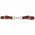 "Weaver Leather 3 1/2"" HVY DUTY CURB, CHESTNUT"