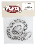 "Weaver Leather 91/2"" Curb Chain with Quick Links"