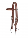 Weaver Leather Austin Browband Headstall - Horse