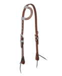 Weaver Leather Austin Flat Sliding Ear Headstall FREE SHIPPING