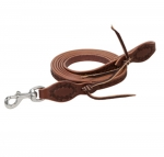 "Weaver Leather Barbed Wire Roper Rein, 5/8"" x 8'"